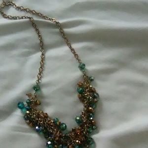 Antique bead necklace